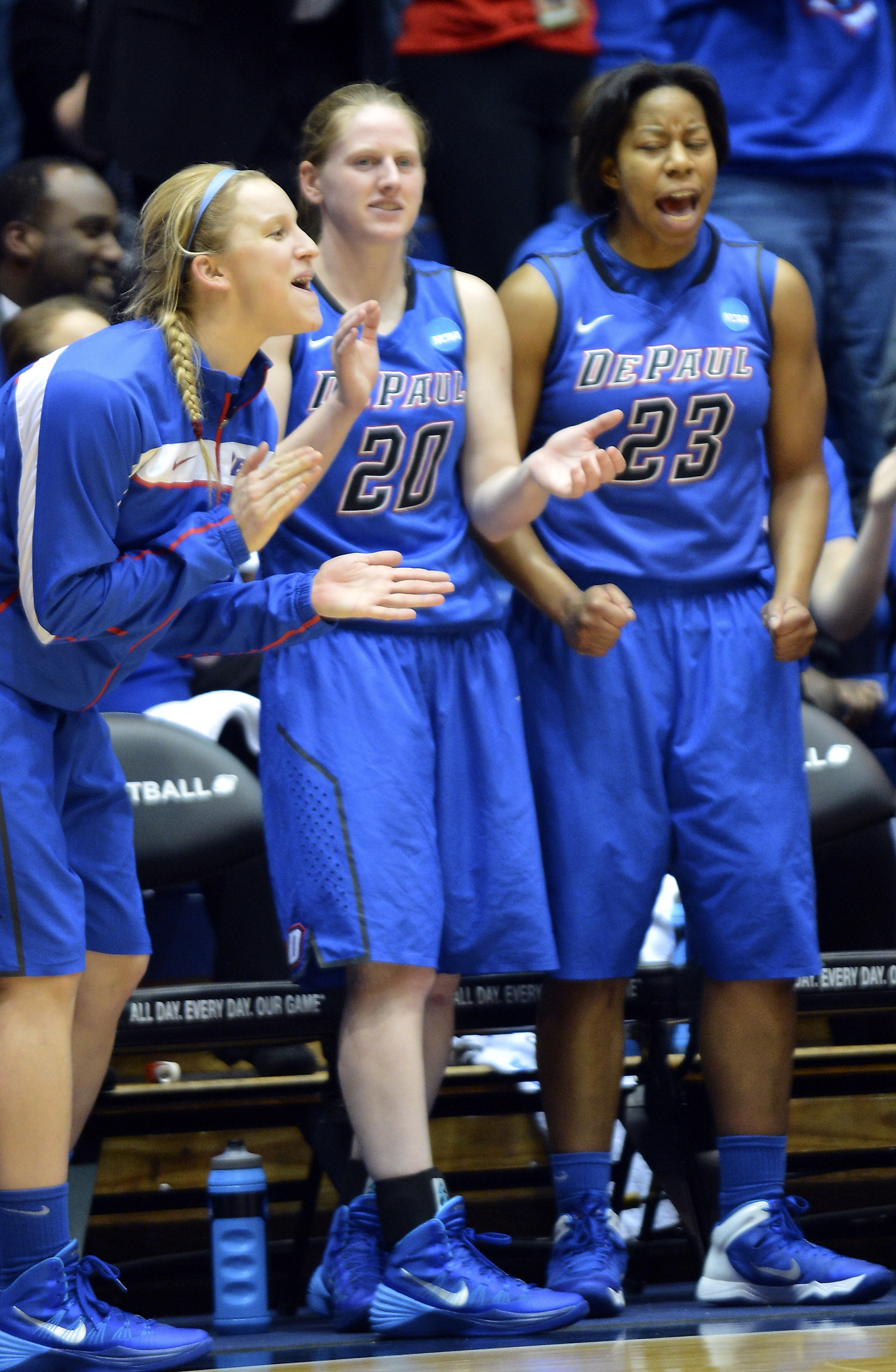 7cd6b7e8b92a DePaul fans will urge the Blue Demons to keep on dancing at Thursday s NCAA  Sweet 16