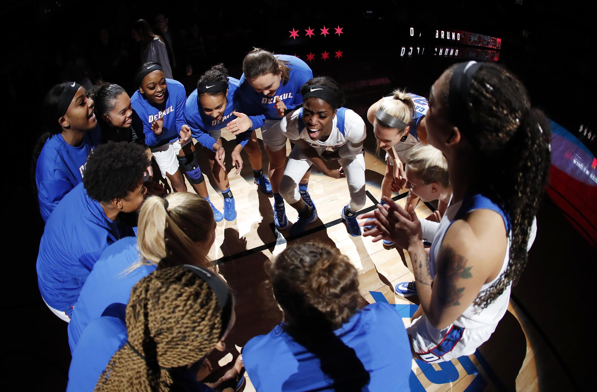 No. 11/12 DePaul Goes for 10th Win in a Row