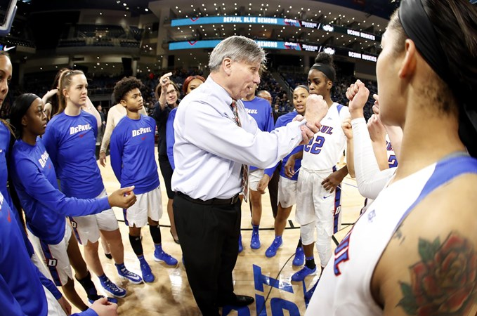 No. 12/12 DePaul Shoots for Seven in a Row - DePaul University Athletics