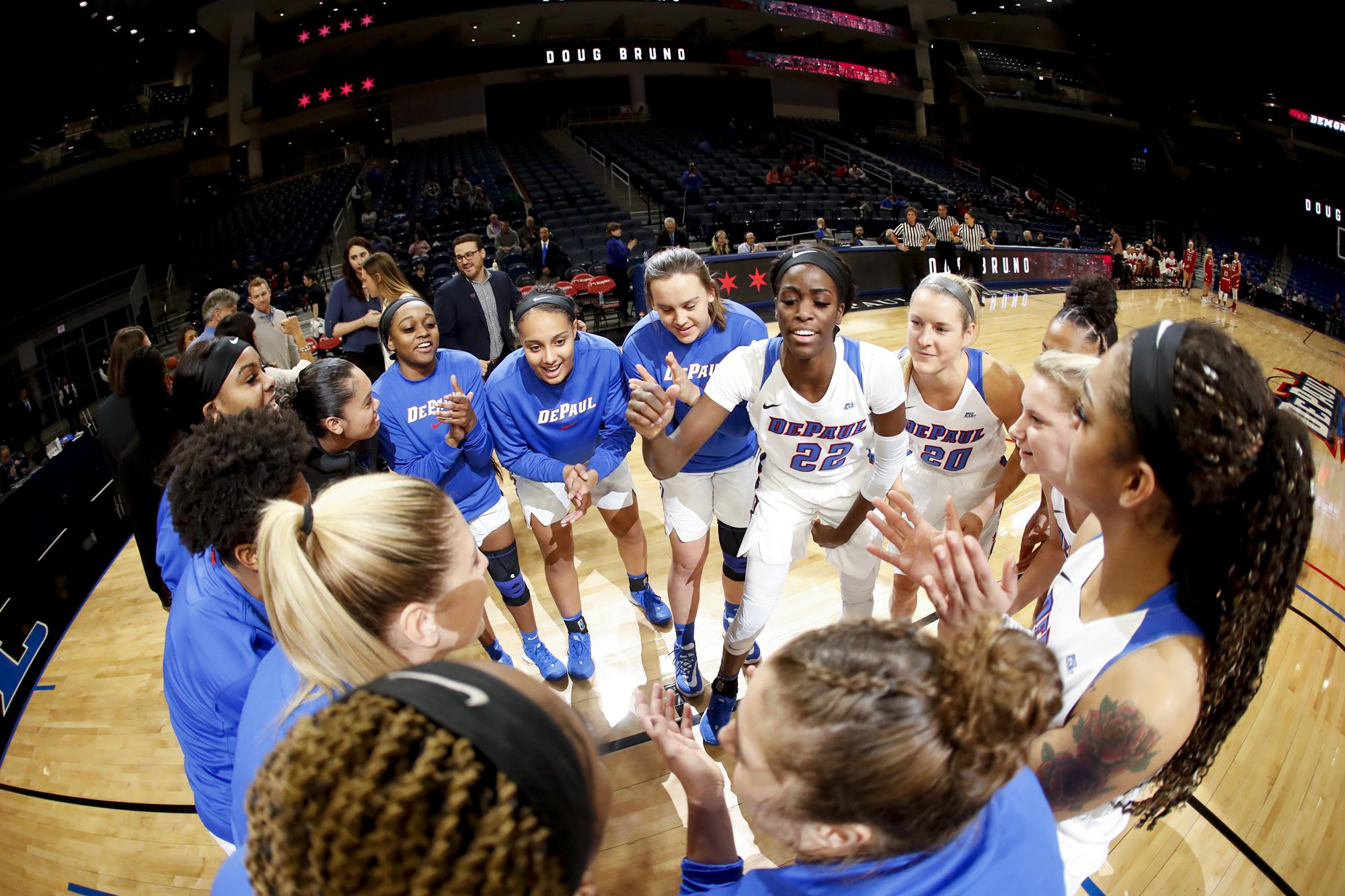 No. 16/16 DePaul Shoots for Seventh Win in a Row