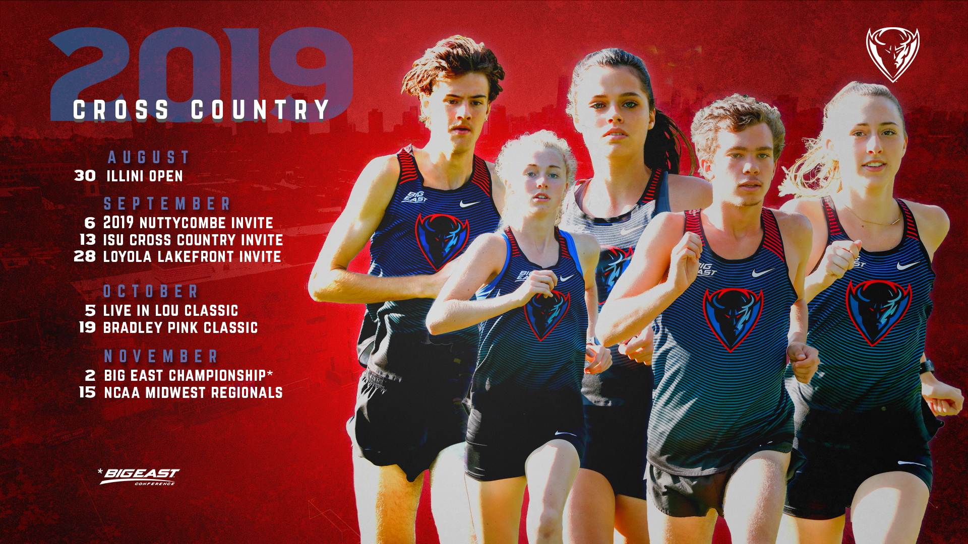 Cross Country Unveils 2019 Schedule