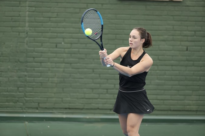 Women's Tennis Topped by Iowa 6-1 on Friday - DePaul University Athletics
