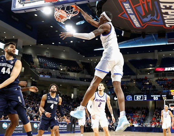 Blue Demons Knock Off Georgetown - DePaul University Athletics