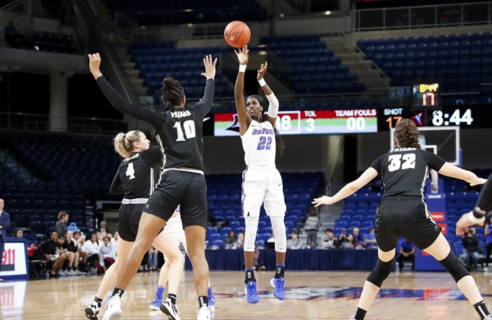 Stonewall Named WBCA Honorable Mention All-America - DePaul University Athletics